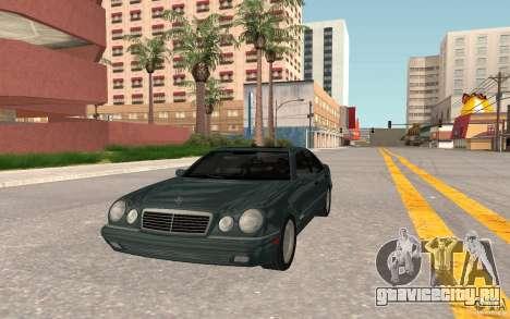 Mercedes Benz E420 W210 для GTA San Andreas