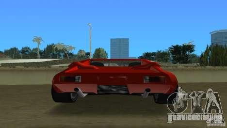 De Tomaso Pantera для GTA Vice City вид справа
