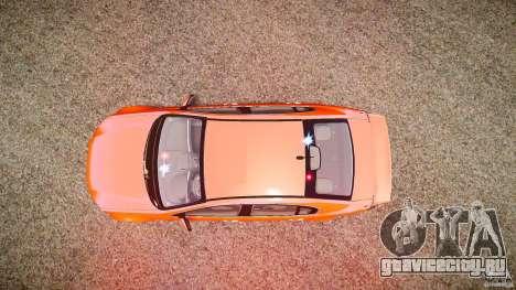 Holden Commodore SS (FBINOoSE) для GTA 4 вид сверху