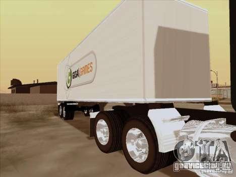 Caband trailer для GTA San Andreas вид слева