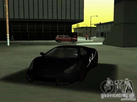 Lamborghini Reventоn для GTA San Andreas вид сверху