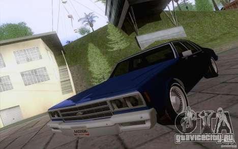 Chevrolet Caprice Clasico для GTA San Andreas вид слева