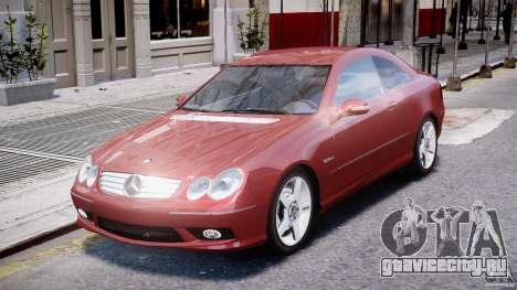 Mercedes-Benz CLK 63 AMG 2005 для GTA 4 вид слева