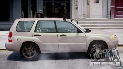 Subaru Forester v2.0 для GTA 4 вид сбоку
