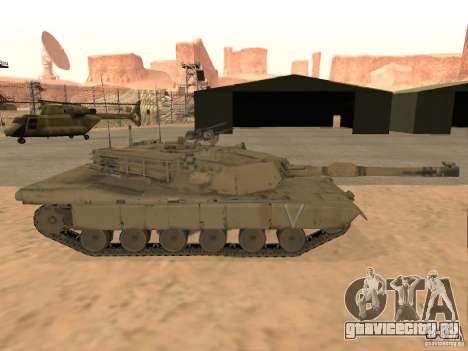 Abrams M1A2 для GTA San Andreas вид сзади слева