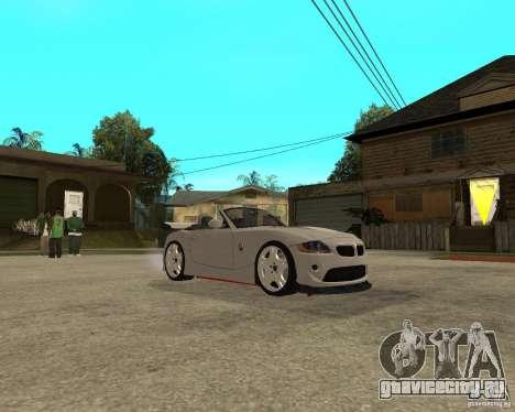 BMW Z4 Supreme Pimp TUNING volume II для GTA San Andreas вид сзади