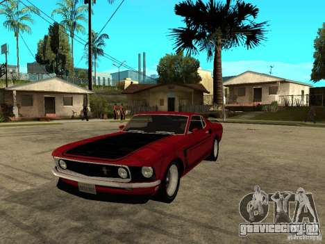 1969 Ford Mustang Boss 302 для GTA San Andreas