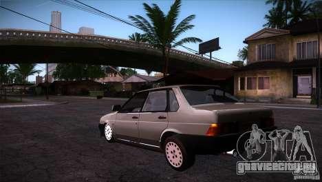 Fiat Regata для GTA San Andreas вид сзади слева