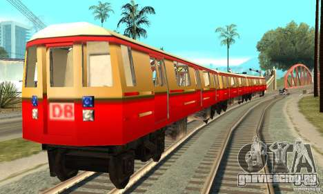 Liberty City Train DB для GTA San Andreas