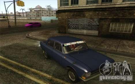 ИЖ 412 Москвич для GTA San Andreas вид слева