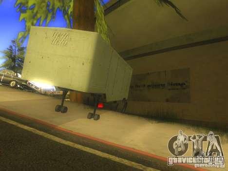 Прицеп ОдАЗ 794 для GTA San Andreas вид сзади слева
