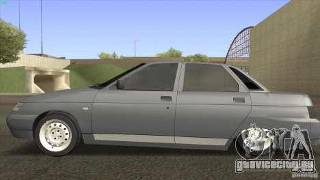 ВАЗ 2110 Dag для GTA San Andreas вид слева