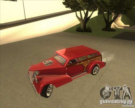 Custom Woody Hot Rod для GTA San Andreas