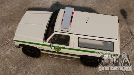 Полицейский Rancher ELS для GTA 4 вид справа