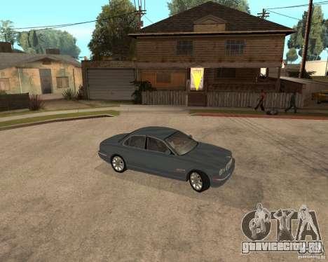 Jaguar XJ-8 2004 для GTA San Andreas вид справа