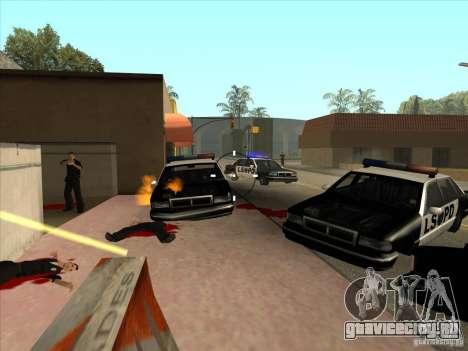 CLEO скрипт: Пулемёт в GTA San Andreas для GTA San Andreas второй скриншот