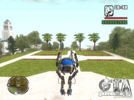 Robot из Portal 2 №3 для GTA San Andreas второй скриншот