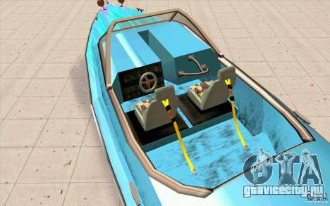 Hot-Boat-Rot для GTA San Andreas вид сзади