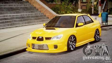 Subaru Impreza STI для GTA 4