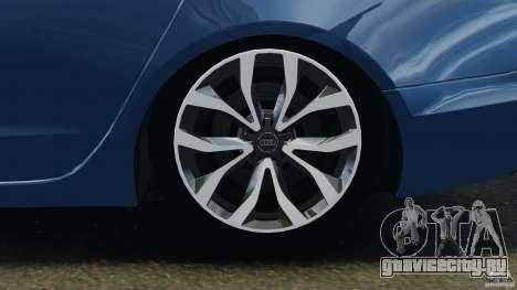 Audi A6 для GTA 4 вид сбоку