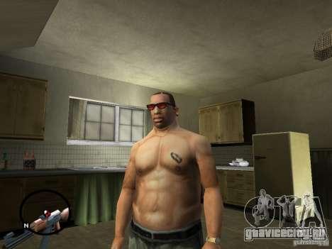 Белокожий Cj для GTA San Andreas второй скриншот