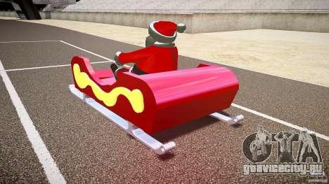 Santa Sled normal version для GTA 4
