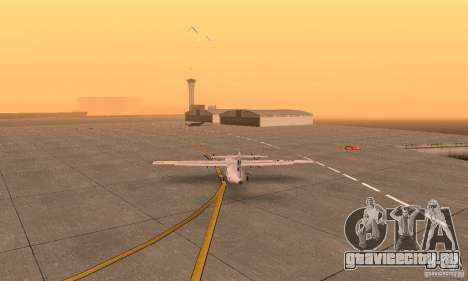 ATR 72-500 UTair для GTA San Andreas вид слева