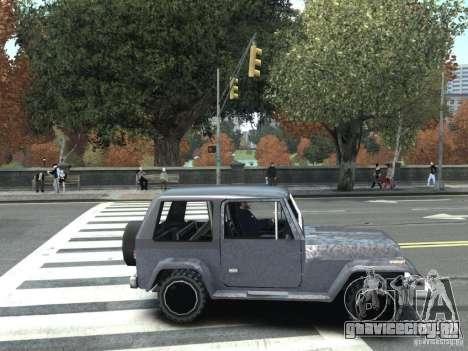 Mesa из GTA San Andreas для GTA IV для GTA 4 вид сзади слева