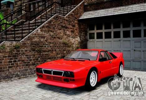 Lancia 037 Stradale для GTA 4