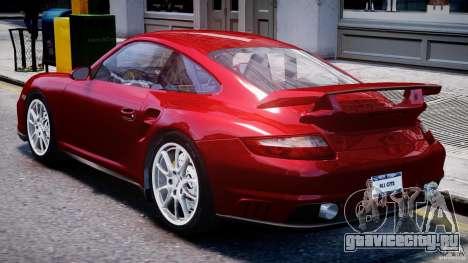 Posrche 911 GT2 для GTA 4 вид справа