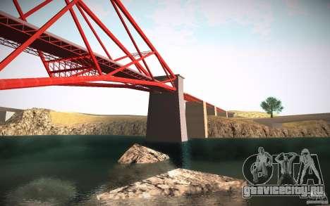 HD Red Bridge для GTA San Andreas пятый скриншот