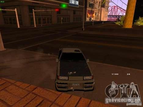 New Racing Style Fortune для GTA San Andreas вид справа