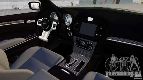 Chrysler 300 SRT8 2012 для GTA 4 вид сбоку