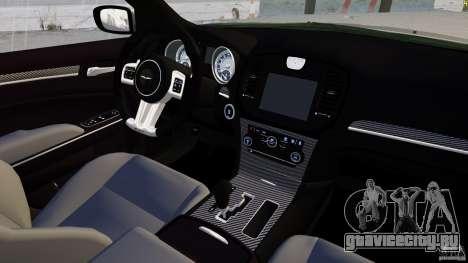 Chrysler 300 SRT8 2012 для GTA 4 вид сбоку