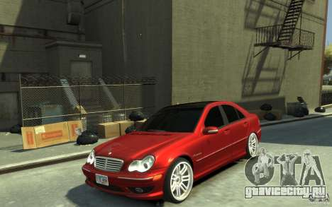 Mercedes-Benz C32 AMG Light Tuning для GTA 4