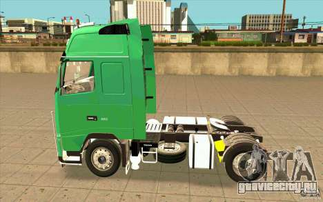 Volvo FH16 Globetrotter Officiel для GTA San Andreas вид слева