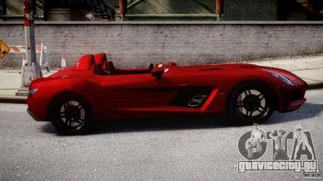 Mercedes-Benz SLR McLaren Stirling Moss [EPM] для GTA 4 вид изнутри