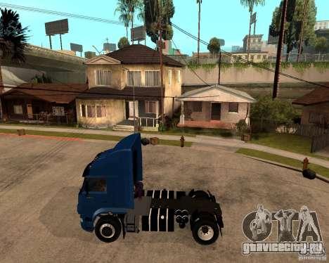 КамАЗ 5460М для GTA San Andreas вид слева