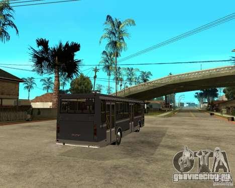 ЛИАЗ 5256.25 Рестайлинг для GTA San Andreas вид сзади слева