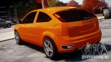 Ford Focus ST для GTA 4 вид сзади слева
