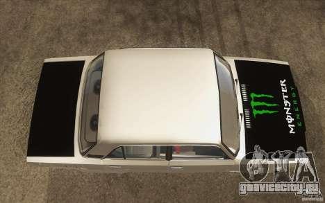 ВАЗ-2107 Lada Drift для GTA San Andreas вид справа