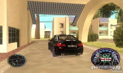 Chechen Speedometr для GTA San Andreas второй скриншот