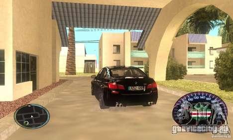Chechen Speedometr для GTA San Andreas второй скриншот