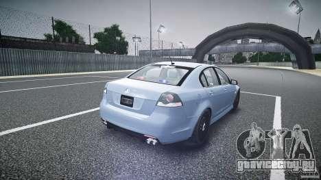 Holden Commodore (FBINOoSE) для GTA 4 вид сбоку