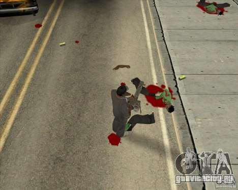 Real Ragdoll Mod Update 02.11.11 для GTA San Andreas
