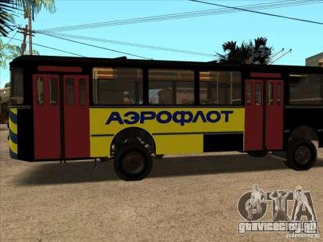 ЛиАЗ 677п для GTA San Andreas вид справа