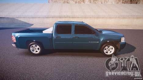 Chevrolet Silverado 1500 v1.3 2008 для GTA 4 вид сбоку