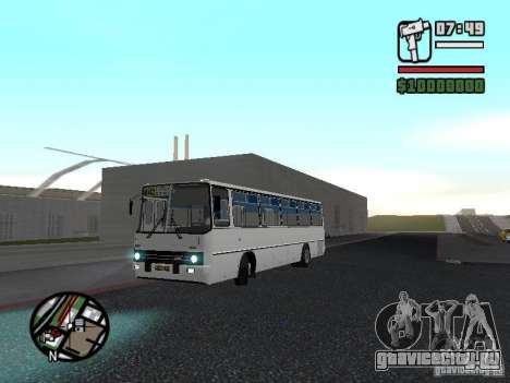 Ikarus 266 Городской для GTA San Andreas вид сзади