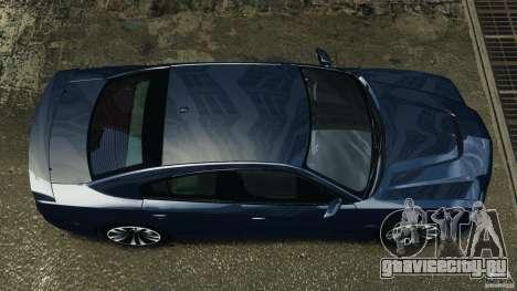 Dodge Charger SRT8 2012 v2.0 для GTA 4 вид справа