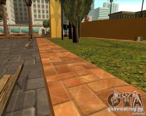 Новый центральный парк Лос Сантоса для GTA San Andreas третий скриншот